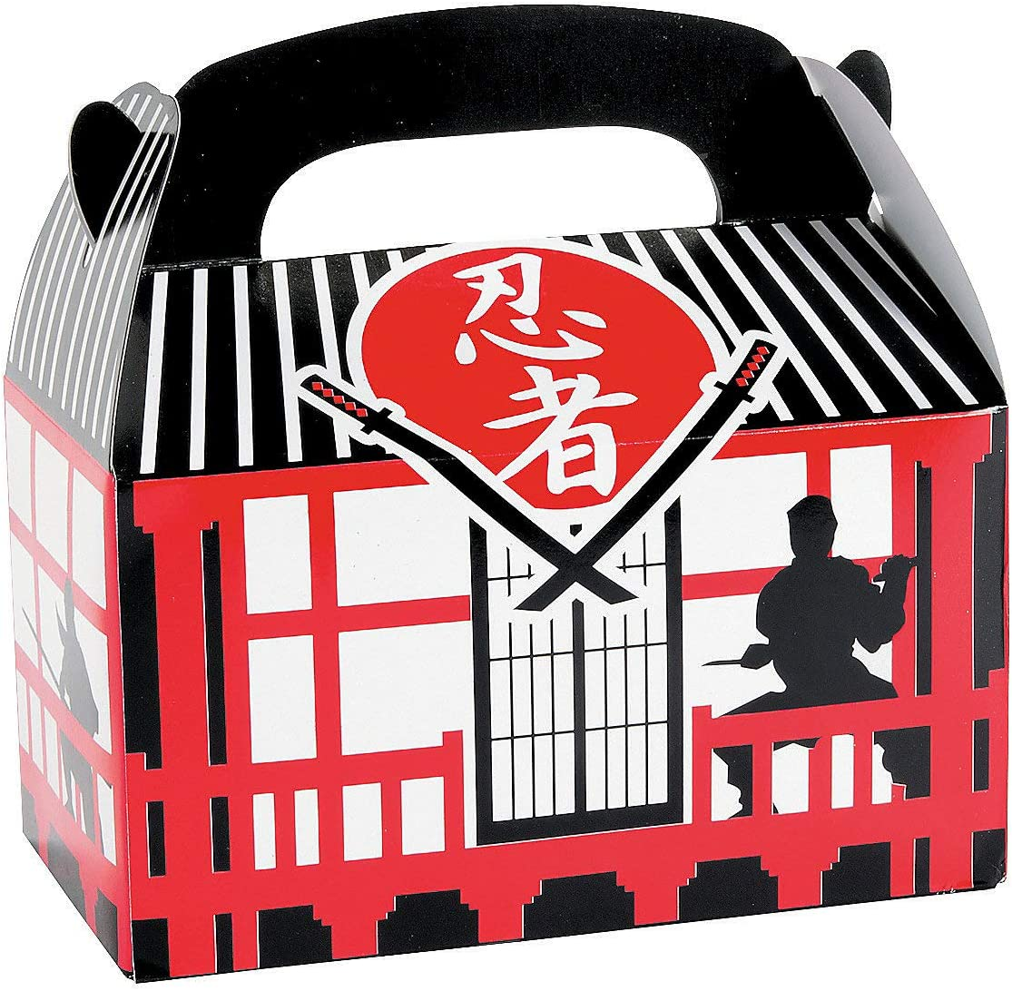 Ninja Warrior Treat Boxes - 12 ct