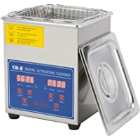 CO-Z 2L Professional Ultrasonic Cleaner with Digital Timer&Heater for Jewelry Glasses Watch Dentures Small Parts Circuit…