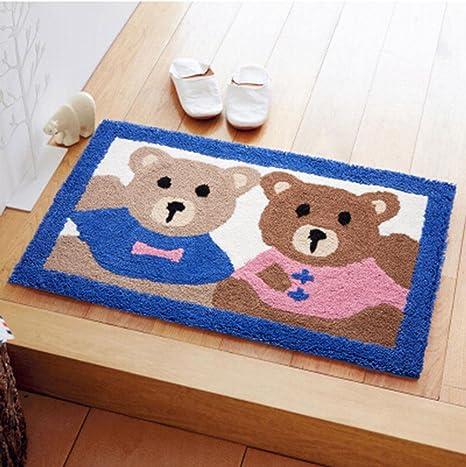 Wx.Pab Alfombrillas de baño Colchones de baño colchones alfombras de Uso doméstico esterillas de