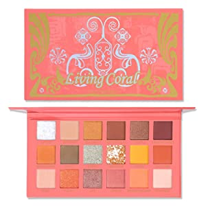 UCANBE Living Coral 18 Shade Eyeshadow Palette
