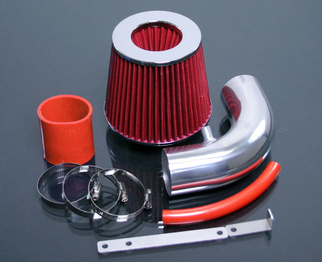 Red 2000-2006 Mini Cooper S 1.6 1.6L Supercharged RAM Air Intake Kit Systems