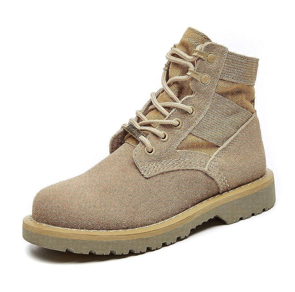 Middle bottes JINHAIXUE Chaussures De Travail pour Hommes en Plein Air, Chaussures Antidérapantes pour La Randonnée Male 43