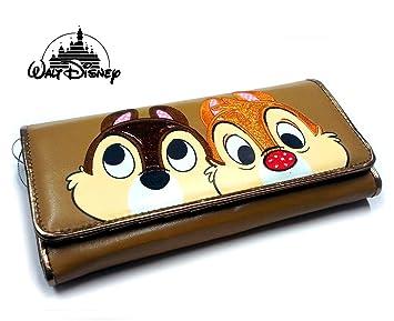 Cip & Ciop Portafoglio Grande Marrone Ecopelle Walt Disney