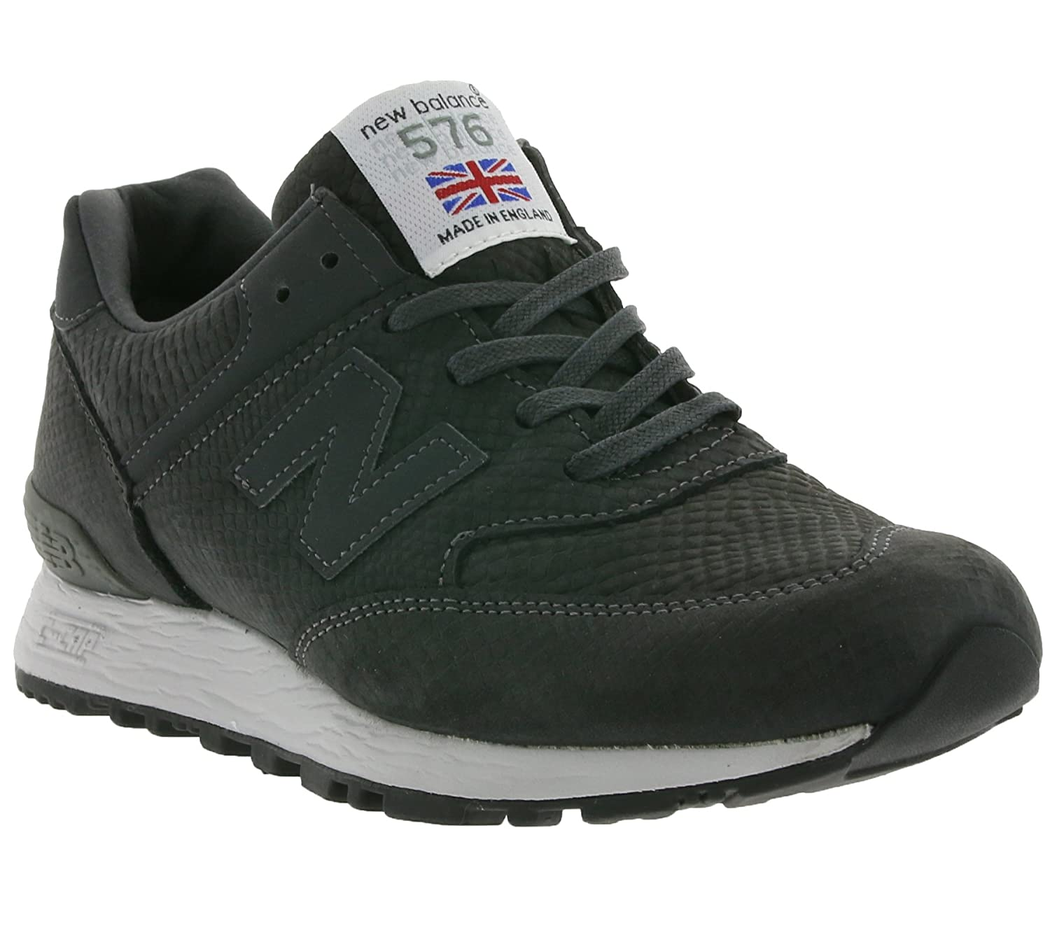 big sale ec286 3c753 New Balance 576 Women's Real Leather Sneaker Gray W576NRG Made in England,  Size:40