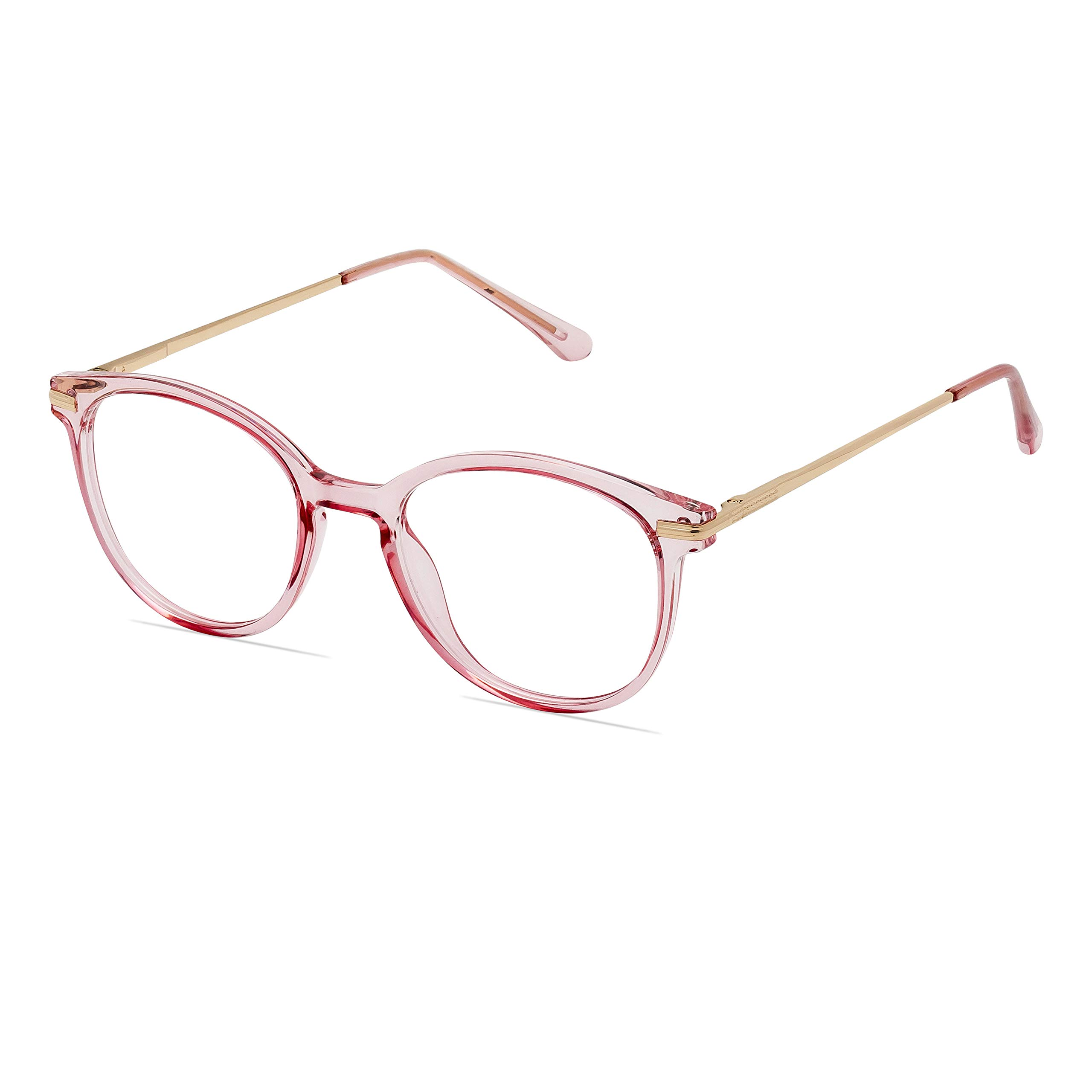 Premium Blue light blocking glasses - Acetate Frame equipped with spring hinges