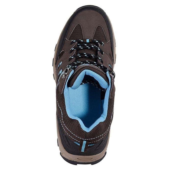 Uncle Sam Damen Outdoor Boot in Braun/Blau, Größe:40;Farbe:Braun/blau