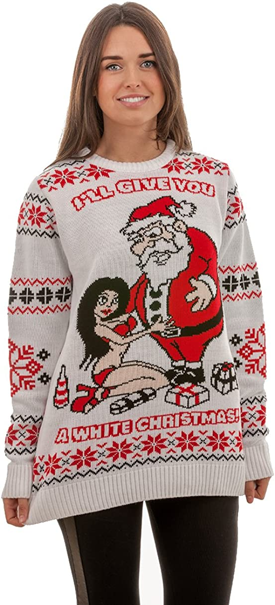 Unisex Adult Novelty Stuffed Turkey Fun Xmas Christmas Sweatshirt Jumper X-Large