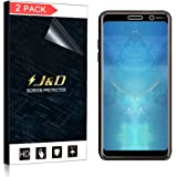 J & D [2-pack] Nokia 7Plus schermo (non vetro), Soft Skin [non copertura completa] [anti-bolle] HD Schermo trasparente per Nokia 7Plus