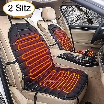 Amazon.es: Asiento Calefacción coche asiento cojín Pad Manta ...