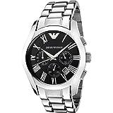Emporio Armani Mens Quartz Watch, Analog Display and Stainless Steel Strap AR0673