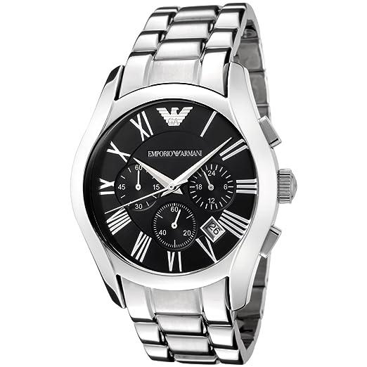 Emporio Armani Classic - Reloj (Reloj de Pulsera, Masculino, Acero Inoxidable, Acero