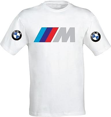 Camiseta Camisa T-Shirt tee Deportiva Hombre BMW MPower Motorrad Team Italia Motorsport Tuning Coche Moto Auto TSB.14: Amazon.es: Ropa y accesorios