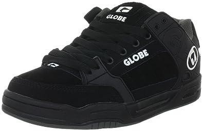 Mens Globe Tilt Sneakers Black/Brown TPR KOR99768