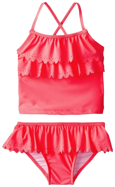 carter's Little Girls' Ruffle Top 2 Piece Swimsuit