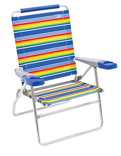 Amazon.com: RIO Beach - Silla de playa plegable, 4 ...