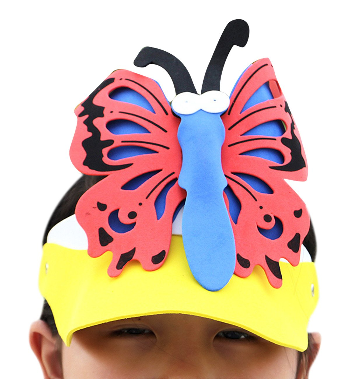 fb505d70965 Galleon - Sumolux Foam Zoo Animal Sun Visors Headgear Party Performance  Story Game Props Hat