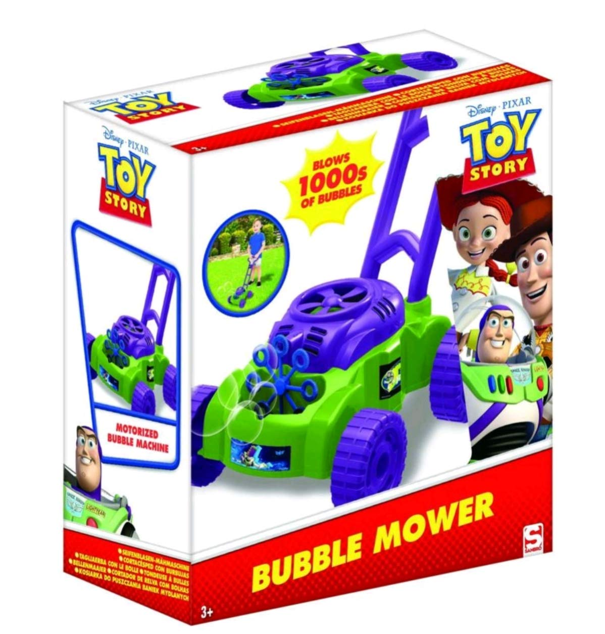 Sambro- Cortacésped pompero Toy Story, (DTS-3263): Amazon.es ...