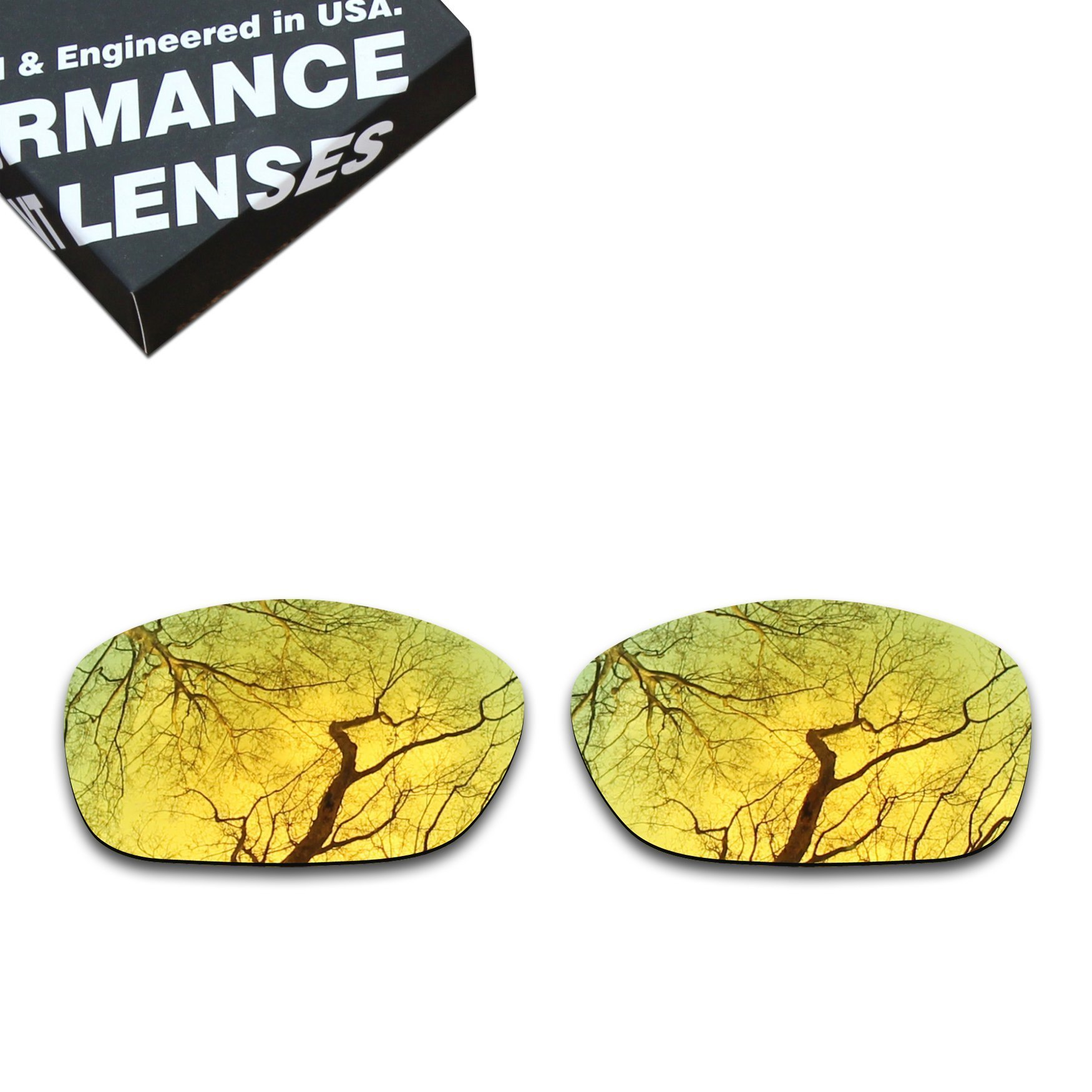 ToughAsNails Polarized Lens Replacement for Oakley Ten X Sunglass - More Options by ToughAsNails