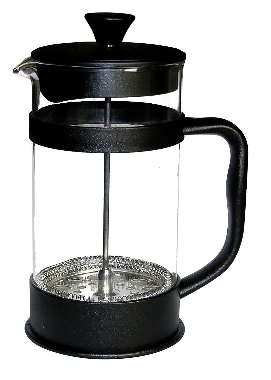 Francois et Mimi Borosilicate Glass French Press Coffee Maker Black BGFPA50 50-Ounce