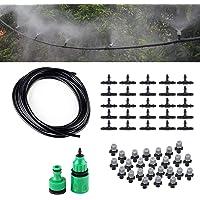 Himifuture 82FT Mist Koeling Systeem met 25 STKS Plastic Mist Nozzles Voor Outdoor Gazon Patio Tuin Kas