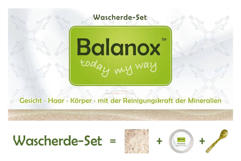 Bala Nox wasc Manada de Juego   con Tiegel + cuchara para extraer Preparación y aplicación   100% blancas Lava Tierra polvo (arcilla) de Francia 300 g ...