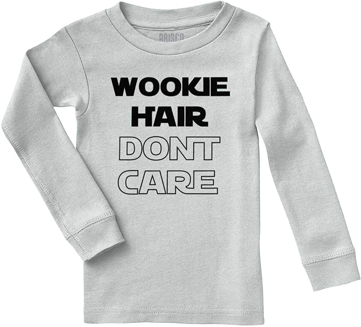 Brisco Brands Wookie Hair Don't Care Cute Nerdy Geeky Pajama Top
