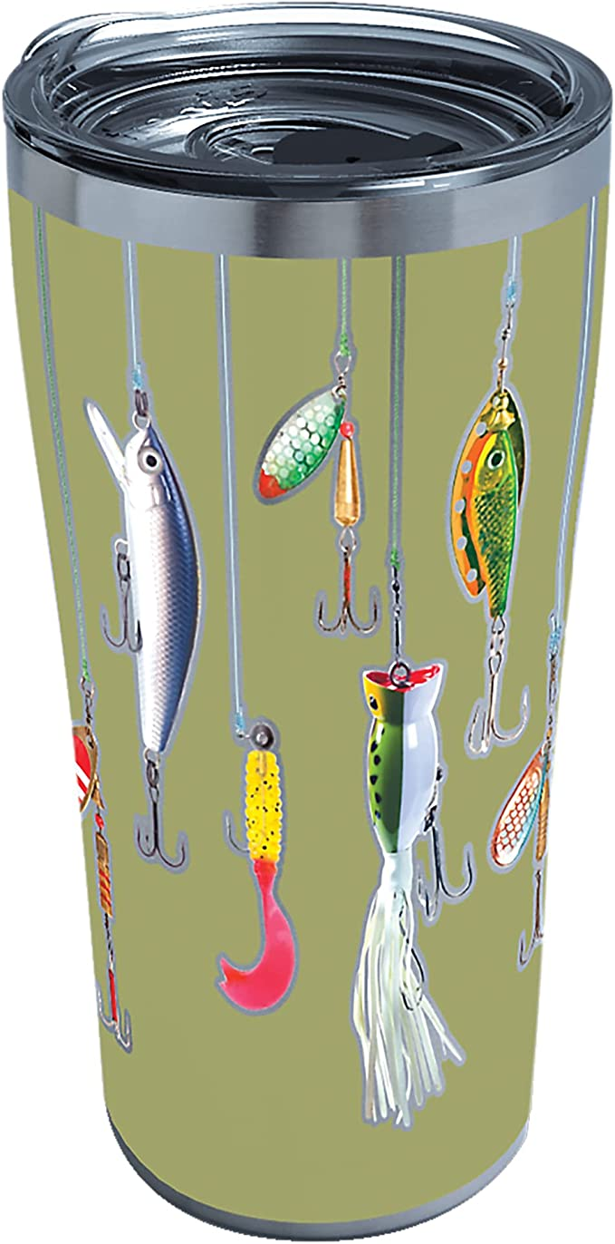 Download Ready To Ship 20 Oz Fishing Lure Lager Tumbler Home Living Kitchen Dining Vadel Com