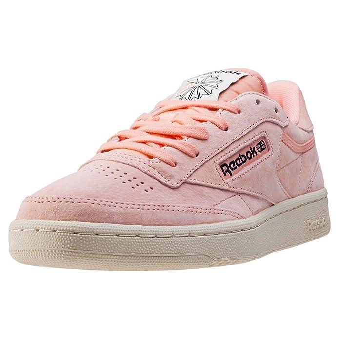 Reebok Club C 85 Pastels Fille Baskets Mode Rose YXBhdeU