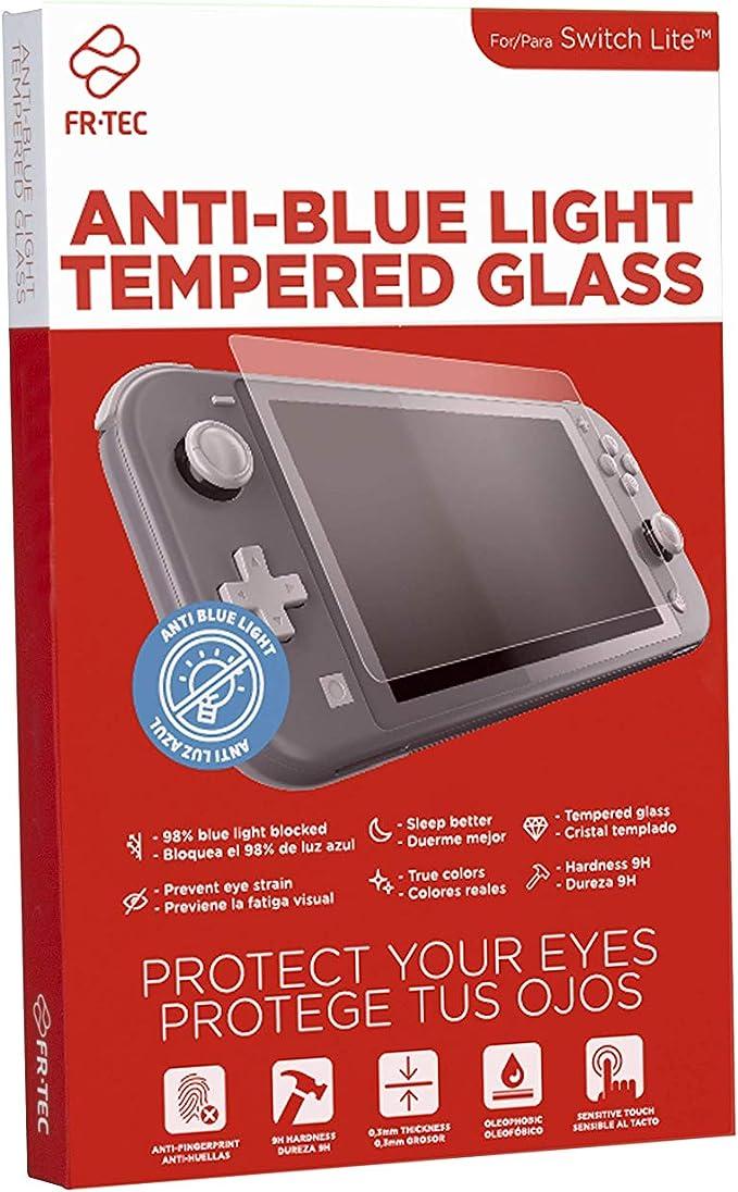 FR-TEC - Switch Lite Cristal Templado con Filtro Luz Azul HEV (Nintendo Switch): Amazon.es: Videojuegos