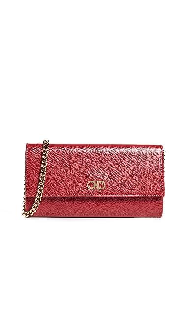 Amazon.com  Salvatore Ferragamo Women s Gancini Mini Crossbody Bag ... 2c34cdca92034