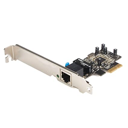 StarTech.com 1 Port PCI Express 10/100 Ethernet Network Interface Adapter Card (PEX100S)