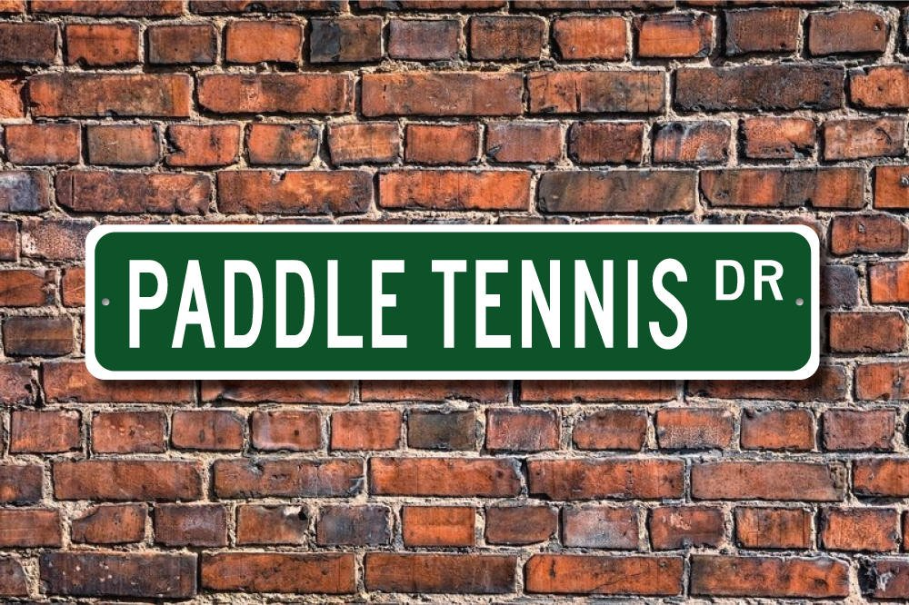 CELYCASY - Señal de tenis, pala, pala, pádel, abanico de tenis ...