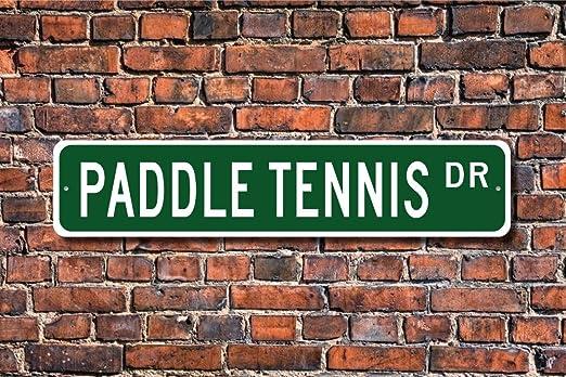CELYCASY - Señal de tenis, pala, pala, pádel, abanico de ...