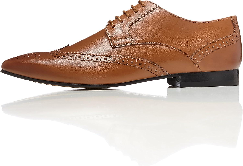 TALLA 44 EU. FIND. Ashby - Zapatos de Vestir Hombre