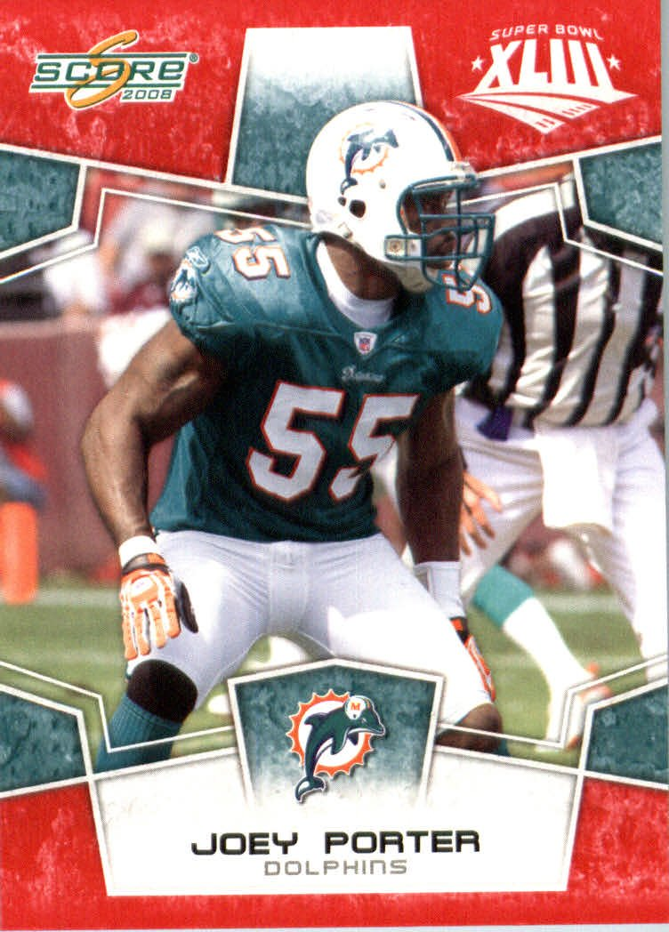 2008スコアレッドSuperbowl Edition NFLフットボールカード(のみ2400 Made ) – Edition # B00B7TVP48 166 Joey Made Porter LB – Miami Dolphins B00B7TVP48, 大きいサイズの古着通販 BIGMAN:75d5a08f --- harrow-unison.org.uk
