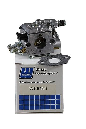 Amazon.com: wt-818 – 1 Walbro Carburador para Motosierra ...