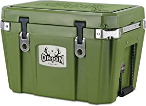 Orion Heavy Duty Premium Cooler (35 Quart), Durable Insulated Outdoor Ice Chest for Maximum Cold Retention - Portable, Bear Resistant, and Long Lasting, Great for Hunting, Fishing, Camping (35, Moss)