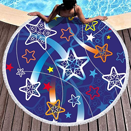 Shinelly Estrellas de Playa, Esterilla de Yoga, Mandala Indio ...