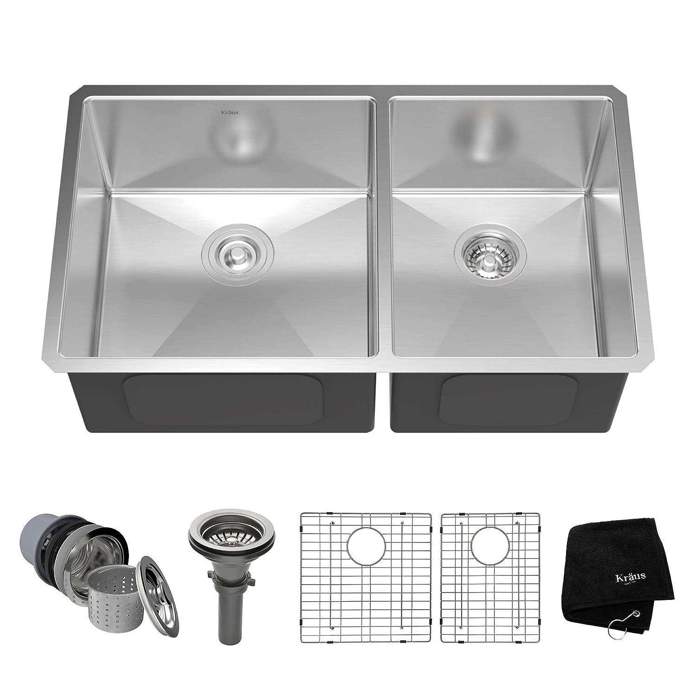 Double Bowl Kitchen Sinks | Amazon.com | Kitchen & Bath Fixtures ...