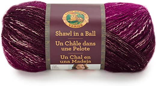Lion Brand Yarn Chal en una Bola de Lana, algodón, Comunidad Coral: Amazon.es: Hogar