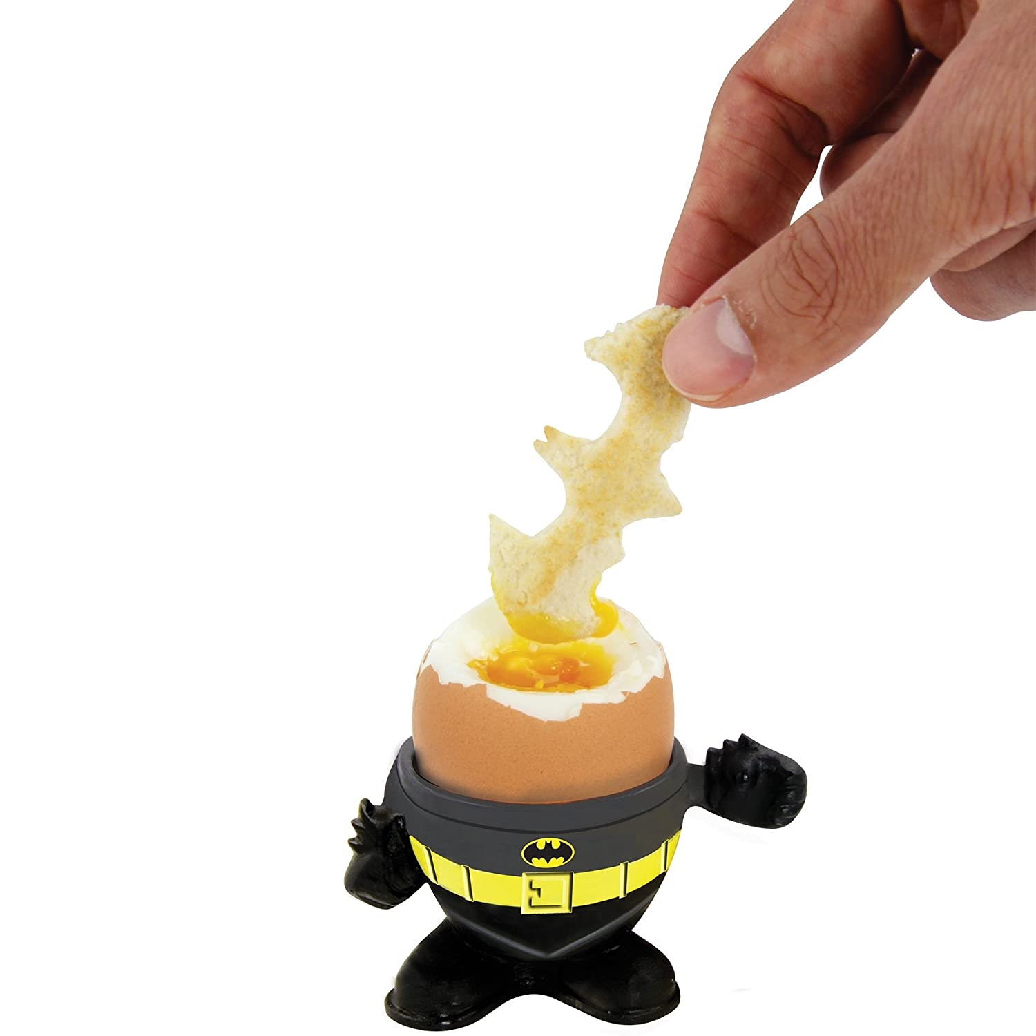 DC Comics Batman Eierbecher and Toast Cutter by DC Universe
