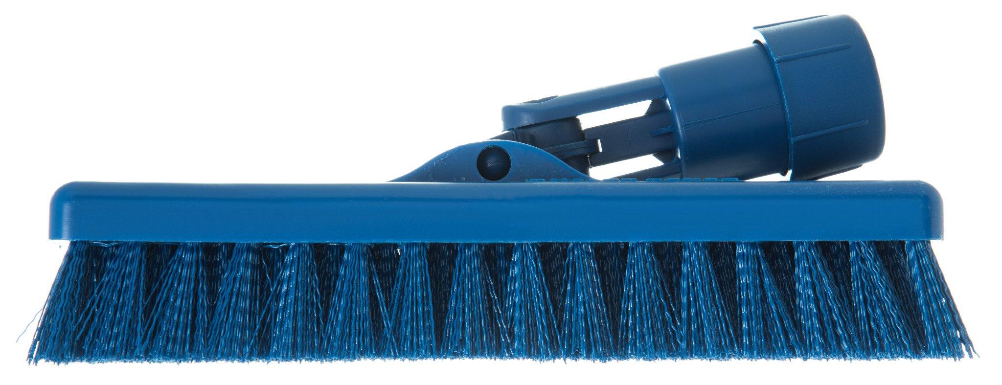 Carlisle 363883114 Swivel Scrub Brush, 8'', Blue (Pack of 12) by Carlisle (Image #4)