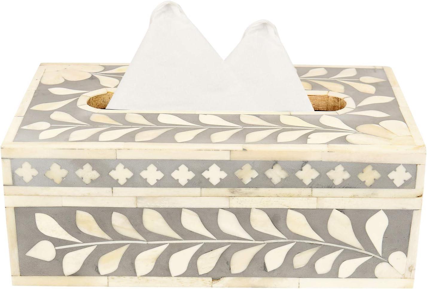 GAURI KOHLI - Caja de pañuelos Decorativa, con Incrustaciones de ...