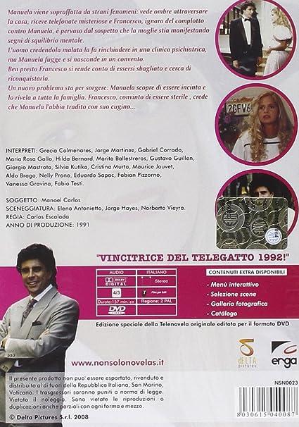4 dvd telenovelas Manuela: Amazon.es: Cine y Series TV