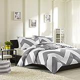 Mi-Zone Libra Comforter Set, Twin/ Twin X-Large, Grey