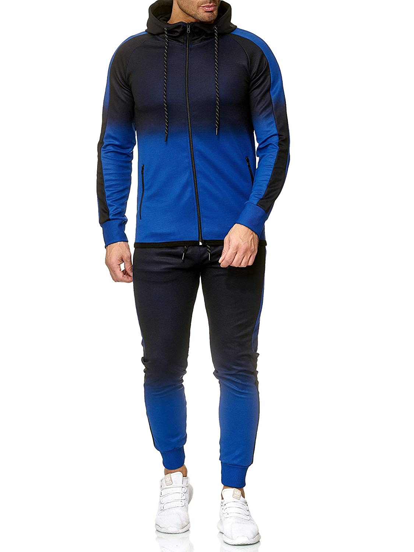 OneRedox Jogging Anzug Sportanzug Jogging-Hose Jogginganzug Herren Trainingsanzug Trainings-Anzug Hoodie-Sporthose Jogging-Anzug