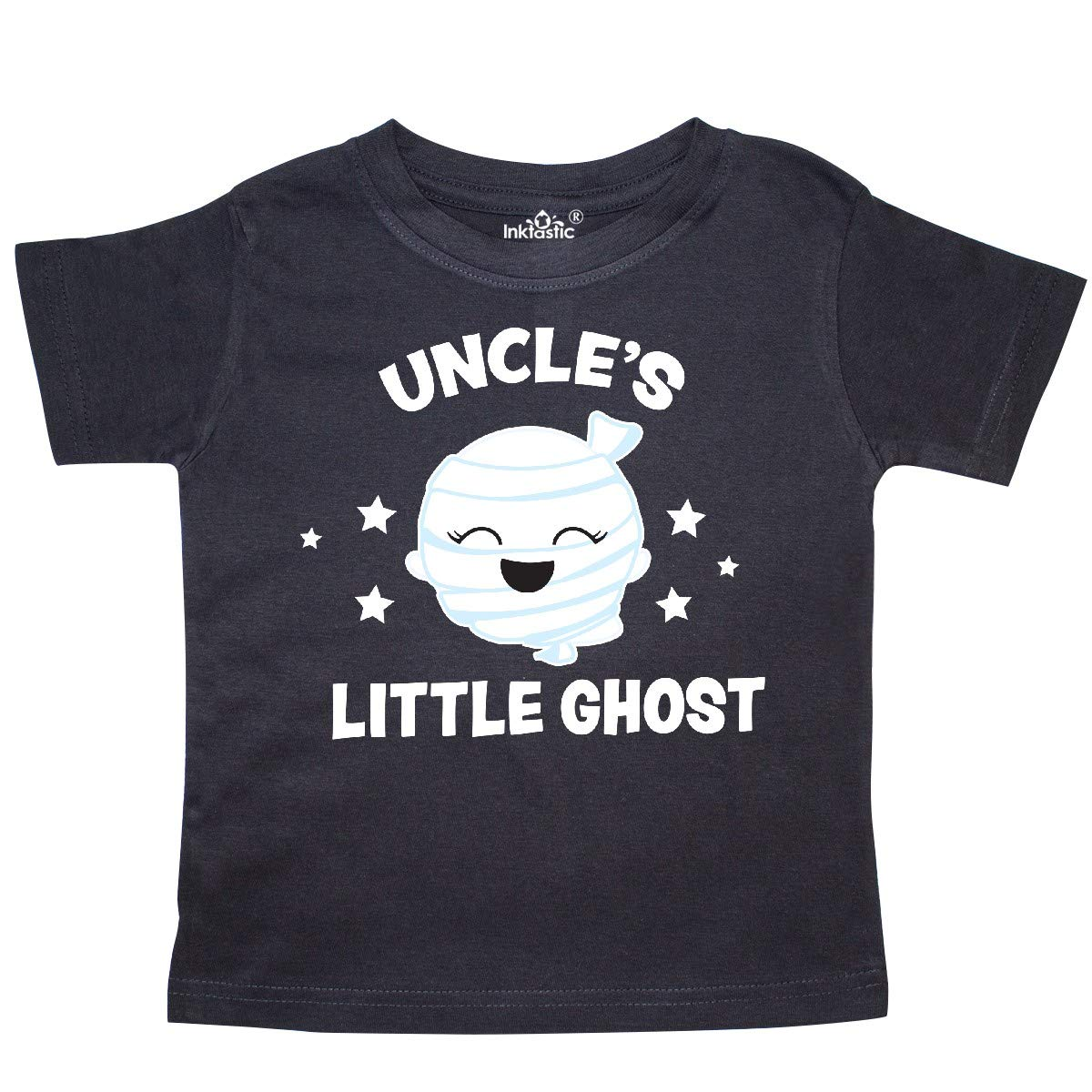 inktastic Cute Uncles Little Ghost with Stars Toddler T-Shirt