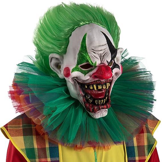 Carnival Toys 1469 Máscara Payaso de terror con el pelo 6e84d8b3716d