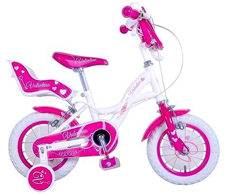 Mediawave Store Bicicletta Bambina Misura 20 Valentina Telaio
