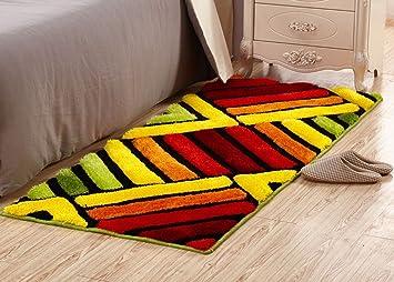 Amazon.de: HJHY® Rechteckiger Teppich, europäischer Stil schönes ...